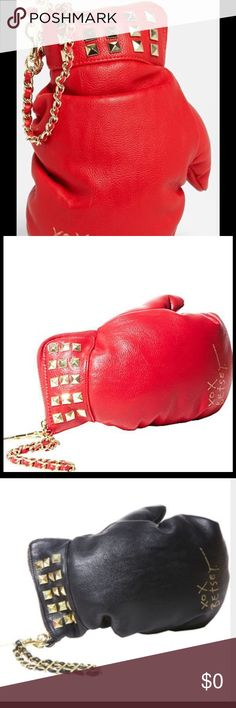ISO Betsey Johnson Kitsch Boxing Glove wristlet Looking for the Betsey Johnson boxing glove Kitsch purse! I would LOVE to get this for my sister for Christmas!! Please contact me!! :) Bags Clutches & Wristlets