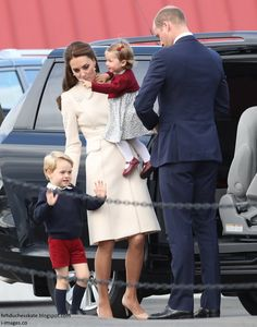 hrhduchesskate: Canada Tour, Day 8, Departure from the Seaplane Terminal, Victoria, British Columbia, October 1, 2016-The Cambridges
