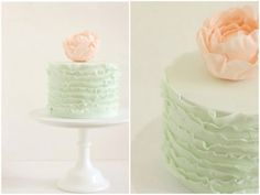 Minimalistic And Chic Hello Naomi Wedding Cakes | Weddingomania