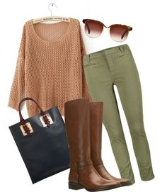 """On a fall day..."" by itsalessia on Polyvore"