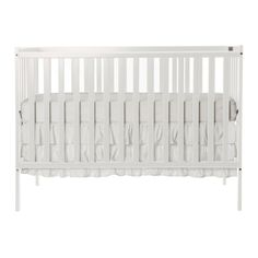 Dream On Me Synergy 5 in 1 Convertible Crib, White