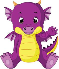 "Buy the royalty-free Stock vector ""Vector illustration of Cute baby dragon cartoon"" online ✓ All rights included ✓ High resolution vector file for print. Cute Cartoon Pictures, Cartoon Pics, Cute Images, Cartoon Drawings, Dragon Drawings, Love Sketch Images, Girl Drawing Images, Dragon Fruit Vector, Easter Coloring Sheets"