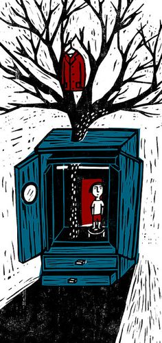 "Editorial illustration ""Mother's Dowry"" 自由副刊-媽媽的嫁妝 | by Chia-Chi Yu | 達姆 (chiachi) via Flickr"