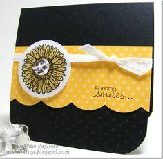 "Black, yellow, and white = a ""Reason to Smile"""