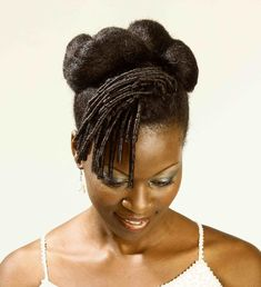 protective hairstyles for natural hair black women | Natural Up-do…..