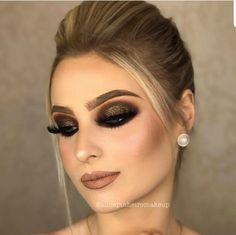 Pin by Ivis C. Ramos on Make-up in 2018 Perfect Makeup, Gorgeous Makeup, Love Makeup, Makeup Inspo, Makeup Inspiration, Glam Makeup, Skin Makeup, Wedding Makeup Tips, Bridal Makeup