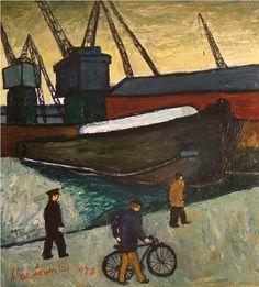 Alan Lowndes | Old Gloucester Barge