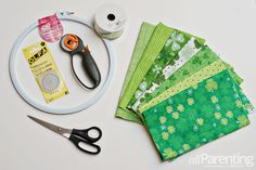 How to make a St. Patrick's day rag wreath