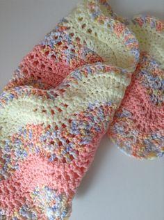 Ravelry: Bunneez's Baby waves blanket