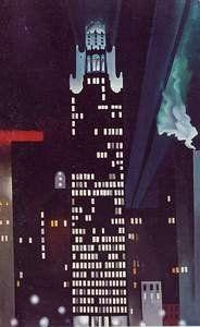 New York Night 1926, Georgia Okeefe