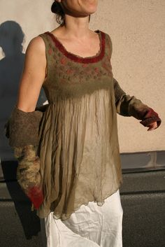 Lisbeth Wahl: scamiciato e giacca bolero - 2010 fantastico!