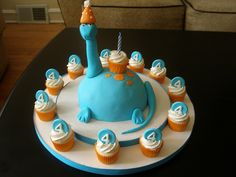 Partysaurus Cake | Flickr - Photo Sharing!