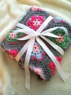 """Human Trafficking Recovery Ministry: """"Wrapped in Love"""" - Crochet Blanket Design"""