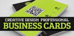25 Creative Design Professional Business Cards #businessscards #professionalbusinesscards #personalbusinessscards #creativedesign