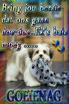 Goeie nag Good Night Wishes, Good Night Sweet Dreams, Good Morning Good Night, Good Night Quotes, Christian Greetings, Christian Messages, Evening Greetings, Afrikaanse Quotes, Goeie Nag