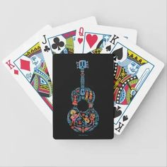 Disney Pixar Coco | Colorful Character Guitar Bicycle Playing Cards