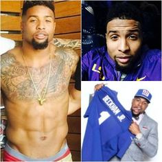 NFL First Round Draft Pick And New York Giant, Odell Beckham, Jr.