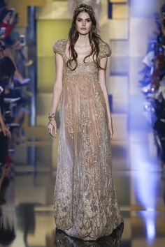 #goldenGirl #goddness Elie Saab AW 2015 2015 Haute Couture