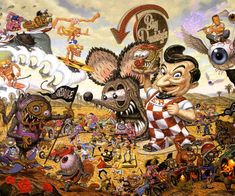 Todd Schorr Paintings | American Surreal: Todd Schorr | Das wilde Dutzend