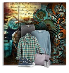 """""""Somewhere Beyond the Sea"""" by moomoofan1972 ❤ liked on Polyvore featuring Frame Denim, Nümph, Cartier, Converse and Goti"""