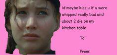 Hunger games valentines lol
