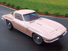 1964 Corvette Sting Ray....pink!