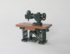 Lego antique sewing machine by mijasper.