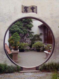 Garden Doorway  Taken in the Master of Nets #garden in Souchow, #China