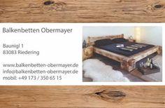 Neue Balkenbetten (Massiv,Vollholz) in Bayern - Riedering   eBay Kleinanzeigen