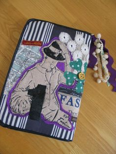 Disse Deux Collage Quilt Patchwork Pouch Bag iPad File