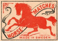 Swedish matchbox, via Pilllpat (Agence Eureka)