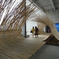 Telepathy Bamboo Installation By Kengo Kuma | Interior Design inspirations and articles