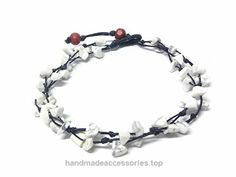 White Color Bead Anklet. Handmade Stone Anklet Fashion Jewelry for Women  Check It Out Now     $8.99    Handmade Product, slightly variations in Colours, Sizes and/or Pattern are expected. Please search for more colours an ..  http://www.handmadeaccessories.top/2017/03/18/white-color-bead-anklet-handmade-stone-anklet-fashion-jewelry-for-women/