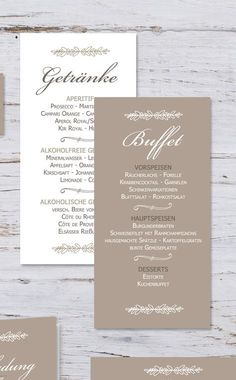 "Drinks Menu for the wedding ""Mette & Haakon"" - Dekoration Hochzeit - Oktoberfest Diy Wedding Menu, Wedding Menu Template, Printable Wedding Invitations, Party Invitations, Wedding Cars, Event Planning, Wedding Planning, Reception Timeline, The Bride"