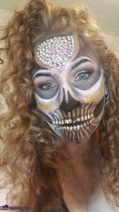 Halloween Costume Contest, Halloween Skull, Halloween Face Makeup, Normal Makeup, Costume Works
