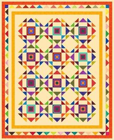 """HIAWATHA - 86"""" x 70"""" - Pre-cut Patchwork Quilt Kit by Quilt-Addicts Kng Sgle #QuiltAddicts"""