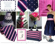 pink and navy wedding - Google Search wedding-likes