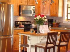 Bungalow in Boerne-HomeAway Weekend Getaways, Ideal Home, Bungalow, Cabin, Vacation, Kitchen, House, Travel, Home Decor