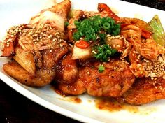 good morning(^_^)b  めっちゃ美味そう(゚∀゚) - 46件のもぐもぐ - Stir Fried Kimchi with pork by