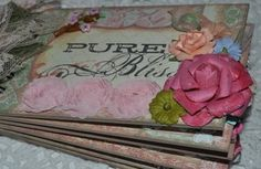 PURE BLISS~ Premade Chipboard Family Scrapbook Album~Paper Piecing~SPBS~TPHH