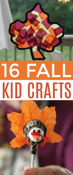 Looking for some crafts to do with your kids this fall? Today I am sharing 16 Fall kid crafts that are super duper fun! Fall Projects, Craft Projects For Kids, Diy Crafts To Sell, Diy Crafts For Kids, Kids Diy, Diy Projects, Toddler Crafts, Project Ideas, Easy Fall Crafts