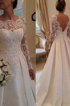 Long Wedding Dresses#LongWeddingDresses Backless Wedding Dresses#BacklessWeddingDresses Wedding Dresses#WeddingDresses Custom Prom Dresses#CustomPromDresses