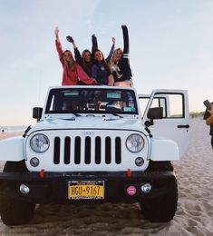 Let's go to the beach in my so -called jeep