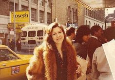 Carrie Fisher in New York circa 1983.