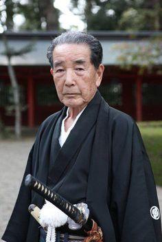 Ōtake Risuke Minamoto no Takeyuki | TENSHIN SHODEN KATORI SHINTO-RYU style Kenjutsu, Shihan, master teacher