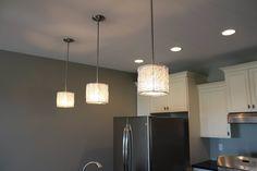modern wire pendant lights Wire Pendant Light, Pendant Lights, Light Project, Ceiling Lights, Mountains, Lighting, Modern, Kitchen, Projects