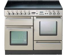 A wide range and great deals on range cookers. Electric Range Cookers, Dual Fuel Range Cookers, Dual Fuel Cooker, Oven Range, Kitchen Design, Champagne, Home Improvement, Kitchen Appliances, Kitchen White