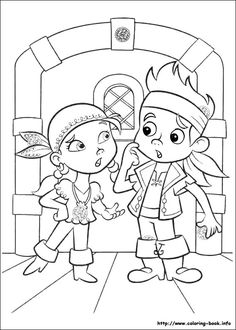 23 Jake And The Never Land Pirates Printable Coloring Pages For Kids Find On Book Thousands Of
