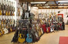 guitars back in the days at session Walldorf