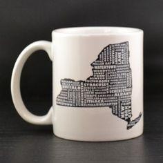 New York Mug - MapMyState.com